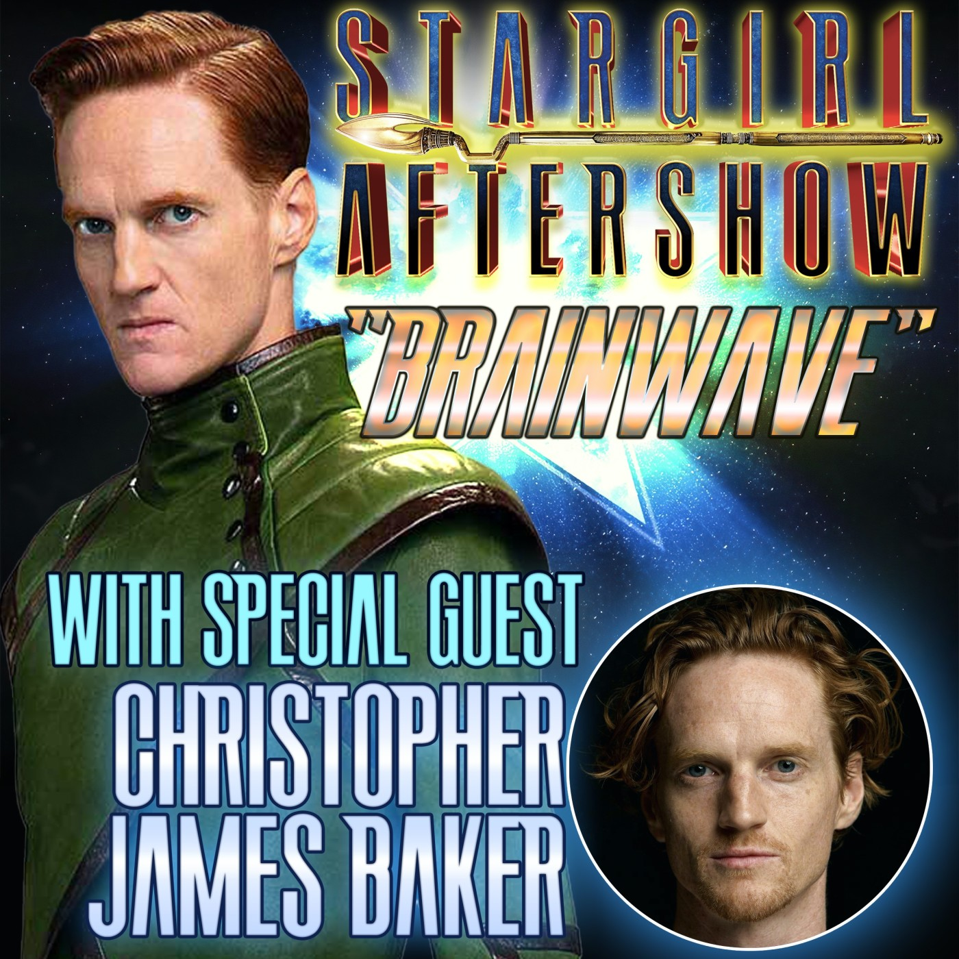 """Brainwave"" with guest CHRISTOPHER JAMES BAKER"