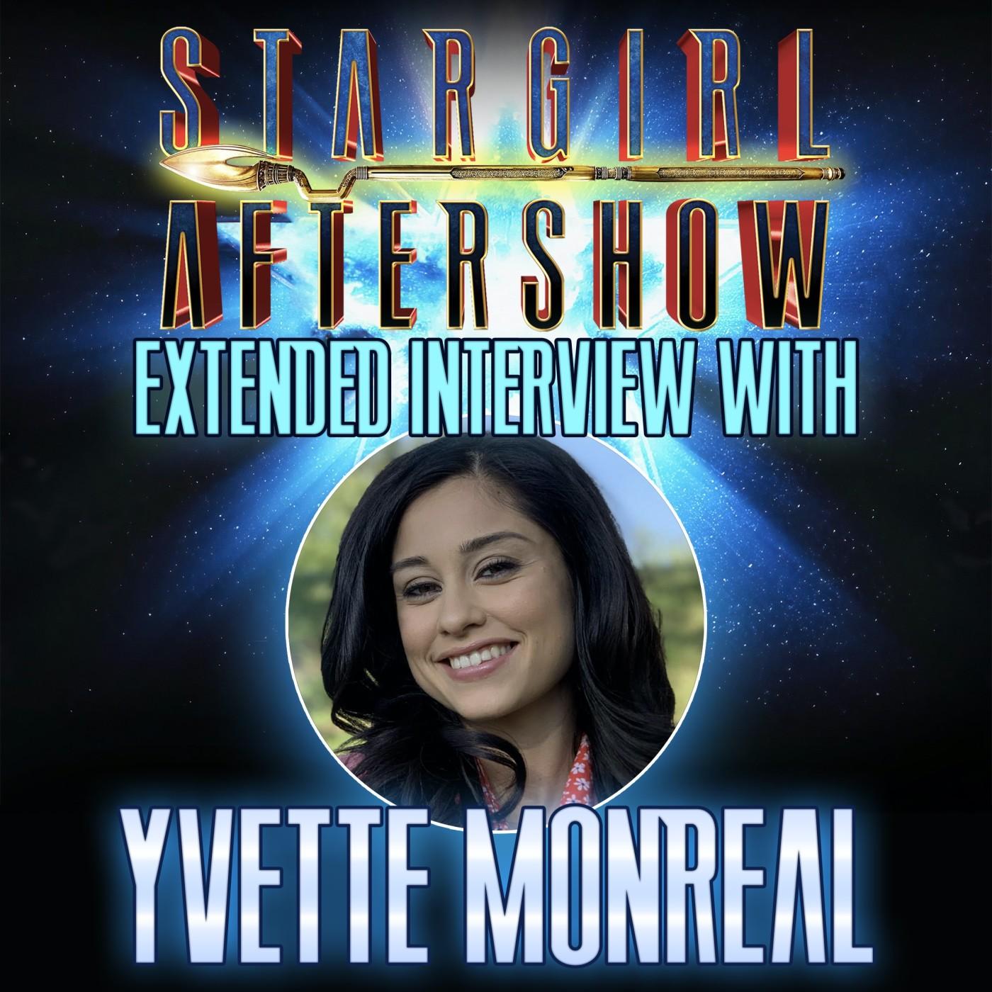 Yvette Monreal Extended Interview